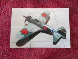 CAGI5 Format Carte Postale Env 15x10cm : SUPERBE (TIRAGE UNIQUE) PHOTO MAQUETTE PLASTIQUE 1/48e AVION JAP'  ZERO-SEN - Vliegtuigen