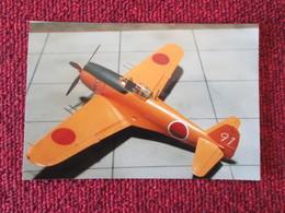 CAGI5 Format Carte Postale Env 15x10cm : SUPERBE (TIRAGE UNIQUE) PHOTO MAQUETTE PLASTIQUE 1/48e AVION JAP'  ORANGE - Vliegtuigen