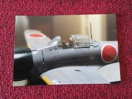 CAGI5 Format Carte Postale Env 15x10cm : SUPERBE (TIRAGE UNIQUE) PHOTO MAQUETTE PLASTIQUE 1/48e HYDRAVION RUFE LILAS - Vliegtuigen
