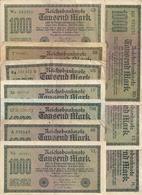 ALLEMAGNE 1000 MARK 1922 VF P 76 ( 10 Billets ) 10 Prefixes Diff - [ 3] 1918-1933 : Weimar Republic