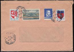 France Marcophilie  Fictif Pa8 Vignette B. Palissy Bleu Sur Plis Metz Oblitération 12 Septembre 1975 - Fictie