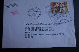Lettre  De TAHITI Obl. Promotion Du Don  De Sang - Tahití