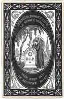 Doodsprentje Joannes De Pau Moerbeke Waas 1793 En Aldaar Overleden 1874 Verstocken En Dieleman  Bidprentje Lokeren - Images Religieuses