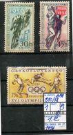 EUROPE:CSSR#OLYMPIC GAMES MELBOURNE1956#SERIE(S) (TOL 280S-3 (27) - Sommer 1956: Melbourne