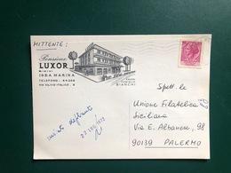 IGEA MARINA (RIMINI) PENSIONE LUXOR  1972 - Rimini