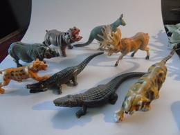 Set Circus Cirque Zoo Hippo Rhino Crocodiles Tigre Tiger 8 Diff.... - Zonder Classificatie