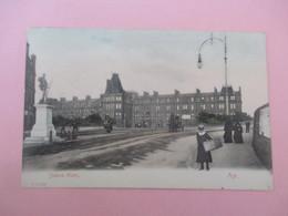 AYRSHIRE - AYR - STATION HOTEL_series F 25786_voyagé En 1905 - Ayrshire