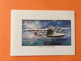 Bleriot XI Collage À. GREARD Carte De Vœux Du Personnel D Air France  - 1946-....: Ere Moderne