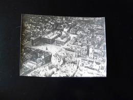 LOT DE 3 PHOTOS AERIENNES DE REIMS BOMBARDEE EN SEPTEMBRE 1916 - Oorlog, Militair