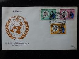 Ruanda - 1 Enveloppe Premier Jour Journée Météorologique Mondiale 1964 - Ruanda-Urundi