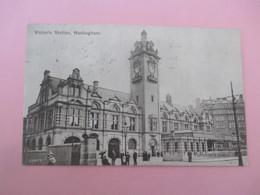 Victoria Station Nottingham_voyagé En 1906 - Nottingham