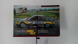 Ancienne Coupure De Presse Automobile Renault 21 Turbo 4x4 Superproduction De 1988-Jabouille-Laffite - Voitures (Courses)
