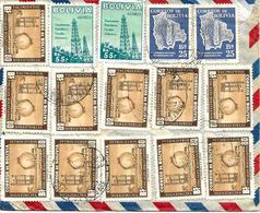 """"""" Champs De Pétrole """" Cochabamba Vers Suisse Sur Lettre 1956 Cover, Brief. Voir 2 Scan - Erdöl"""