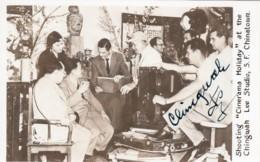 Ching Wah Lee Chinese-American Movie Actor Autograph 'Cinerama Holiday' Chingwah Lee Studios, C1950s Vintage Postcard - Actores