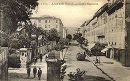 CORSE - AJACCIO -  LE COURS NAPOLEON - Autocar De Touristes PLM - Ajaccio