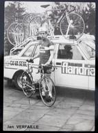 Carte Cyclisme Coureur Cycliste Flandria Ca Va Seul Jan VERFAILLE - Cyclisme