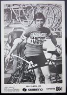 Carte Cyclisme Coureur Cycliste Flandria Carpenter Jos VAN OLMEN - Cyclisme