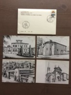"""Cofanetto Con 4 Cartoline Annullo """"Vignola: Un Popolo Una Chiesa Una Storia"""" Vignola (MO) 12-11-1994 - Manifestazioni"""