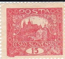 Tchécoslovaquie - 1918 - YT N° 7 - Dentelé - Neuf Avec Charnière - Tchécoslovaquie