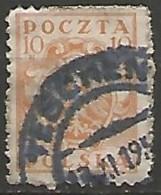 POLOGNE N° 186 OBLITERE - ....-1919 Übergangsregierung