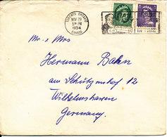 Canada Cover Sent To Germany Toronto Ont. 29-11-1954 - 1952-.... Règne D'Elizabeth II