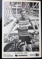 Carte Cyclisme Coureur Cycliste Flandria Carpenter Lucien DE BRAUWERE - Cyclisme