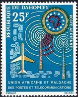 Dahomey 1963 - Mi 221 - YT Pa 23 ( Telecom Union U.A.M. ) Airmail MNH** - Bénin – Dahomey (1960-...)