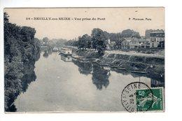 Neuilly Sur Seine  Vue Prise Du Pont - Neuilly Sur Seine