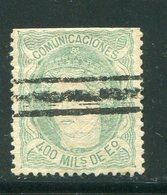 ESPAGNE- Y&T N°110- Oblitéré - 1870-72 Régence