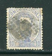 ESPAGNE- Y&T N°120- Oblitéré - 1872-73 Reino: Amadeo I
