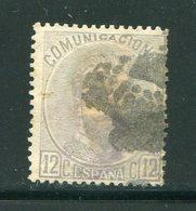 ESPAGNE- Y&T N°121- Oblitéré - 1872-73 Reino: Amadeo I