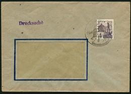 FRANZ. ZONE BADEN 1949, NR. 29, 4 Pf. DRUCKSACHE SST RENCHEN-GRIMMELSHAUSENSTADT - Zone Française