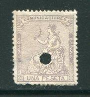 ESPAGNE- Y&T N°137- Neuf Sans Gomme (télégraphe) - 1873 1. Republik