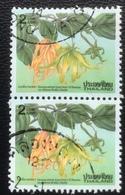 Thailand - (o) Used - Ref 13 - 1995 - Nieuwjaar - Bloesems - Thailand