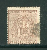 ESPAGNE- Y&T N°151- Oblitéré - 1873-74 Regentschaft