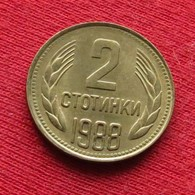 Bulgária 2 Stotinki 1988 KM# 85  Bulgarie Bulgarije Bulgarien - Bulgarije