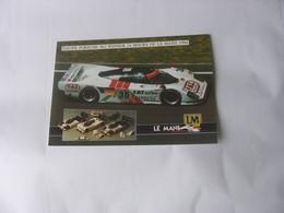 Carte Dauer Le Mans - Car Racing - F1