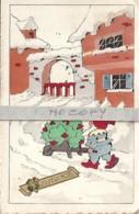 Joyeux Noël - Nain Qui Livre Un Sapin - Christmas