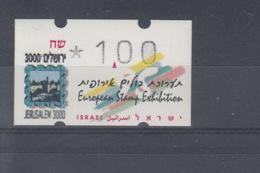Israel Michel Cat.No. Mnh/** ATM 27 - Vignettes D'affranchissement (Frama)