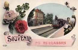 TERRASSON - ( Dordogne ) -  Souvenir De .... - Sonstige Gemeinden
