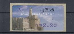 Israel Michel Cat.No. Mnh/** ATM 52 - Vignettes D'affranchissement (Frama)