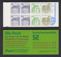 Berlin Markenheftchen 13a Burgen + Schlösser 1982 Postfrisch  - Berlin (West)