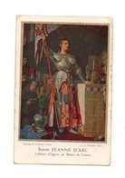 Image Pieuse Sainte Jeanne D'Arc Tableau D'Ingres Au Musée Du Louvre - Maison De La Bonne Presse En 1940 - Images Religieuses