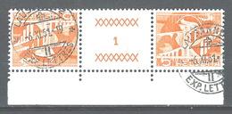 DD-/-721-. Tête-bêche  Avec Pont, N° 482b,  SUPERBE Obl., FEUILLE N° 1,  Cote 2.00 €   , Je Liquide - Tête-Bêche