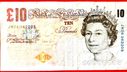 INGHILTERRA - GB - Bank Of England - 2000 - Charles Darwin - 10 Sterline - Ten Pounds - 1952-… : Elizabeth II