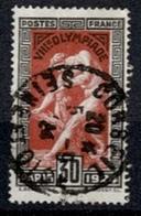 France 1924 - JO De PARIS N°185 - Oblitéré - Other