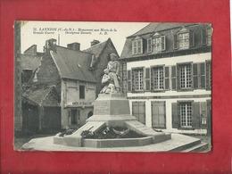 CPA - Lannion  (C.-du-N.)  -   Monument Aux Morts De La Grande Guerre 1914-18 - Lannion