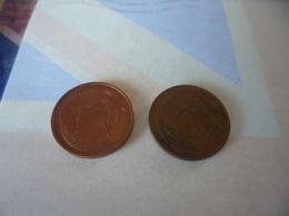 Lot 2 X1 Pence  Irlande 1971 1993 - Irlanda