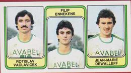 Panini 83 Voetbal Belgie 1983 Sticker Nr 389 Sporting Hasselt Rotislav Vaclavicek Filip Ennekens Jean-Marie Dewalleff - Sport