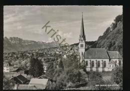 Liechtenstein - Vaduz Mit Kirche [Z02-2.762 - Liechtenstein